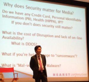David Hahn, CISO, Hearst