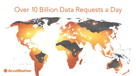 AccuWeather Big Data Map