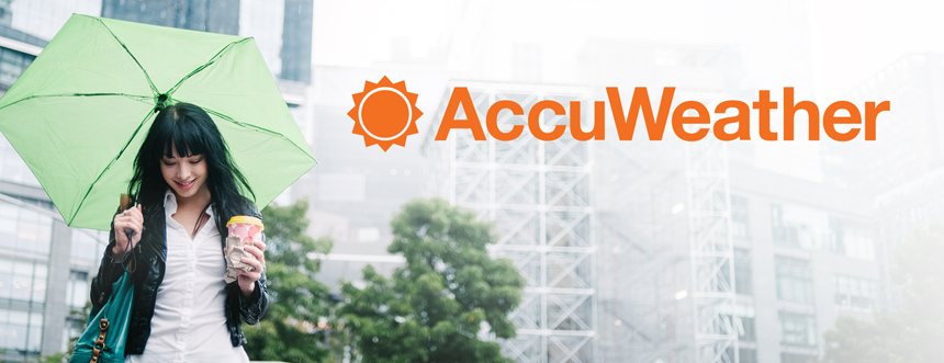 AccuWeather Header Image