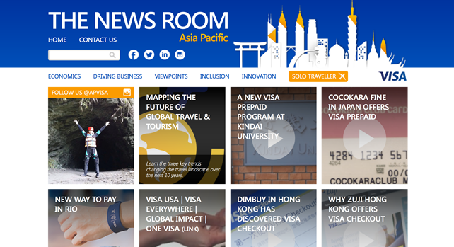 Source: Visa Asia Pacific, The News Room