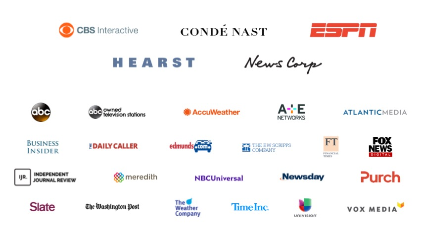 TrustX Participating Company Logos