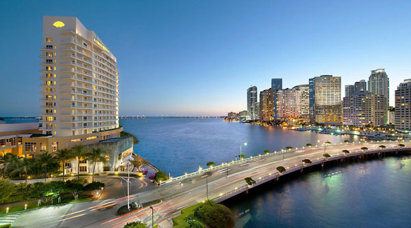 Mandarin Oriental Miami Skyline