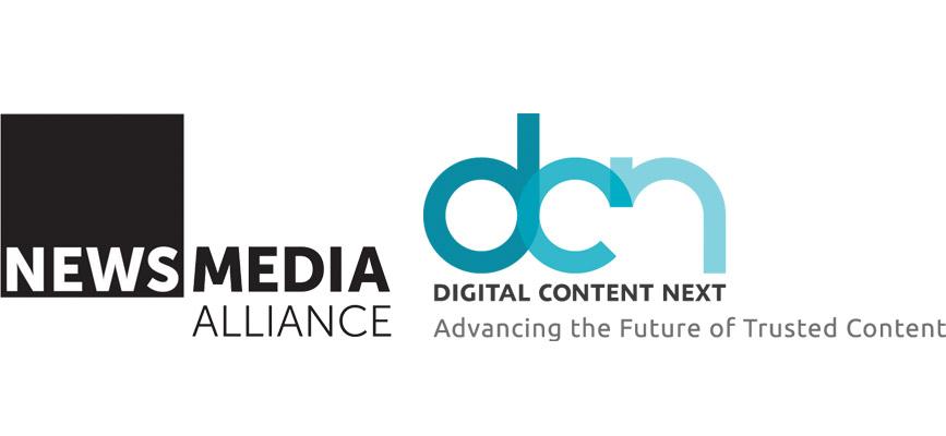 DCN Logo and News Media Alliance Logo